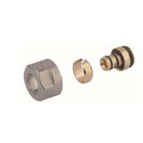 Adaptateur 3/4 Eurocone pour tuyau en aluminium PEX Van Marcke Go 16x2mm 2 pièces D
