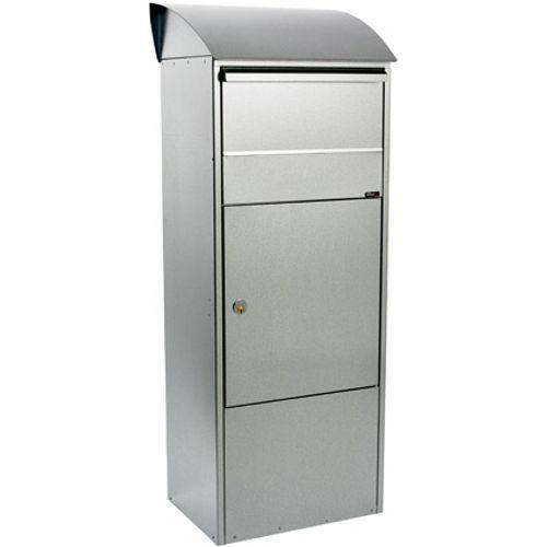 Boîte aux lettres Allux '820' acier galvanisé gris
