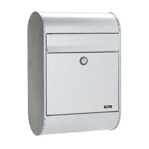 Boîte aux lettres Allux '5000' acier galvanisé gris