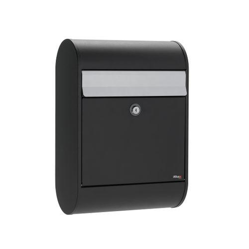 Boîte aux lettres Allux '5000' acier thermopoudré noir