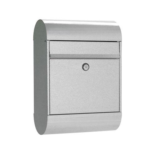 Boîte aux lettres Allux '6000' acier galvanisé gris