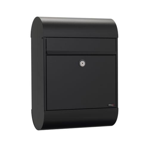 Boîte aux lettres Allux '6000' acier thermopoudré noir
