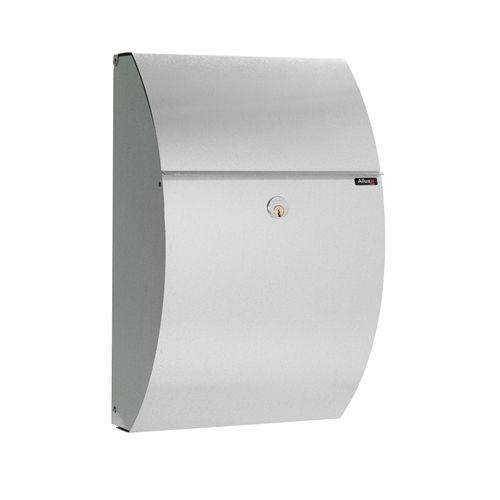 Boîte aux lettres Allux '7000' acier galvanisé gris