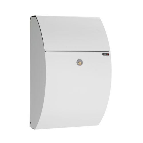 Boîte aux lettres Allux '7000' acier thermopoudré blanc