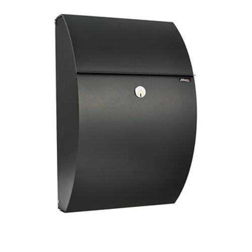 Boîte aux lettres Allux '7000' acier thermopoudré noir