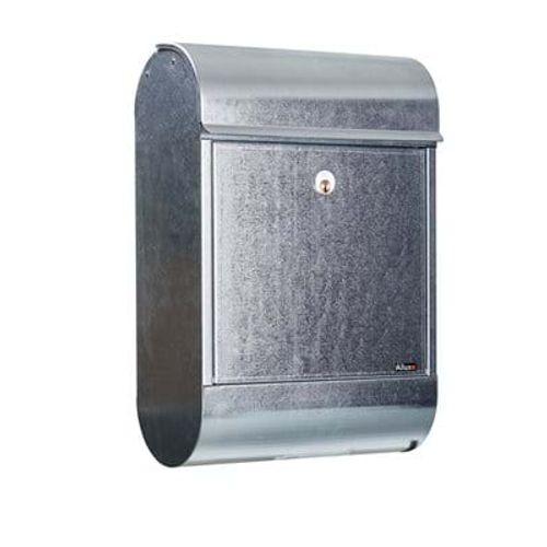 Boîte aux lettres Allux '8900' acier galvanisé gris