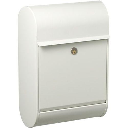 Boîte aux lettres Allux '8900' acier thermopoudré blanc