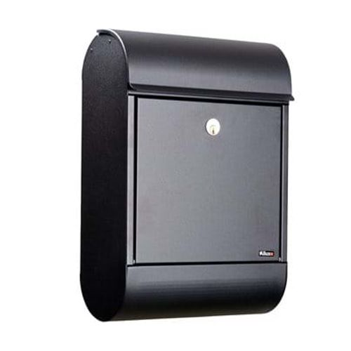 Boîte aux lettres Allux '8900' acier thermopoudré noir