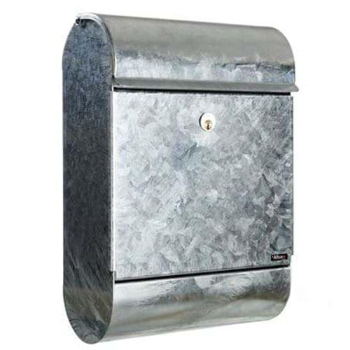 Boîte aux lettres Allux '9000' acier galvanisé gris