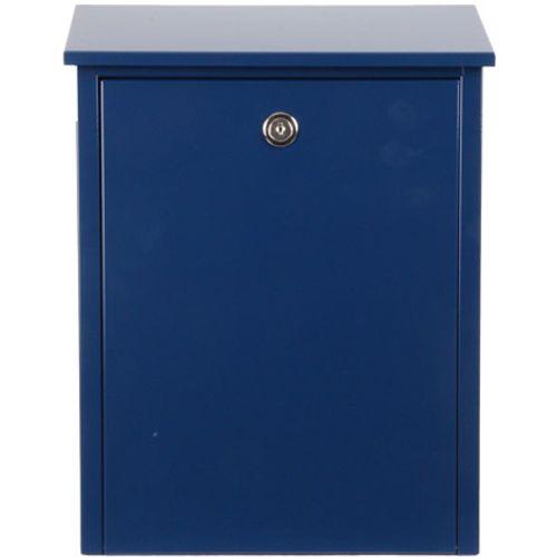 Boîte aux lettres Allux '200' acier thermopoudré bleu