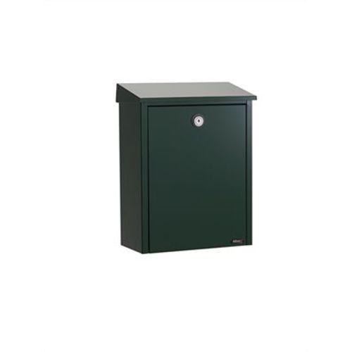 Boîte aux lettres Allux '200' acier thermopoudré vert