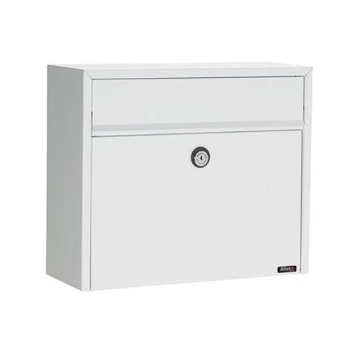 Boîte aux lettres Allux '150' acier thermopoudré blanc