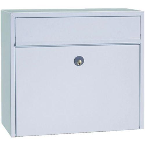 Boîte aux lettres Allux '200' acier thermopoudré blanc