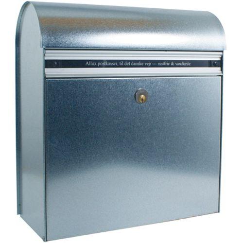 Boîte aux lettres Allux '200' acier thermopoudré gris