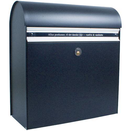 Boîte aux lettres Allux '200' acier thermopoudré noir