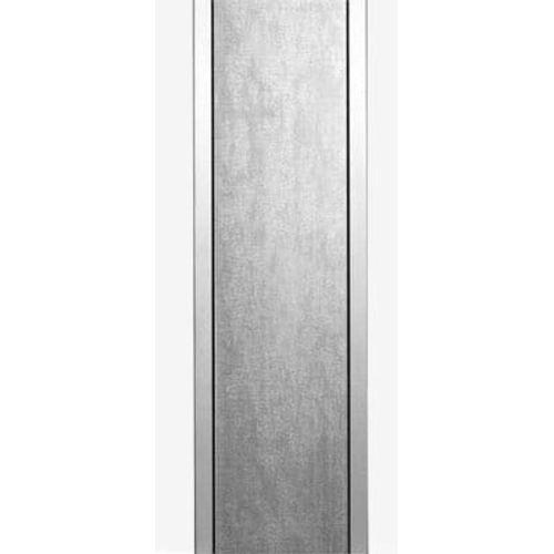 Support pour boîte aux lettres Allux '1001' acier galvanisé gris