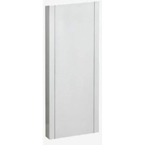 Support pour boîte aux lettres Allux '1001' acier thermopoudré blanc