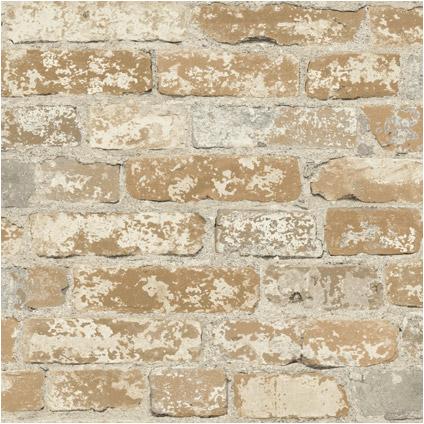 Muursticker RoomMates Natuur baksteen