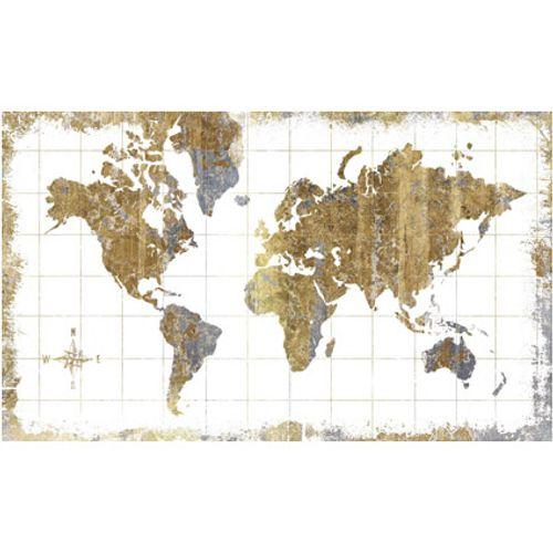 Muursticker RoomMates Wereldkaart