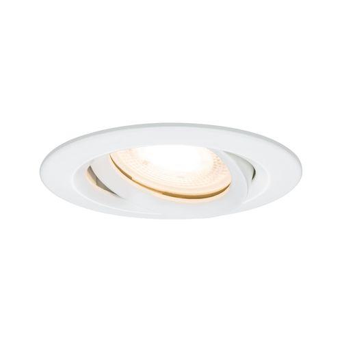 Spot encastré LED Paulmann Nova incliné 7W blanc