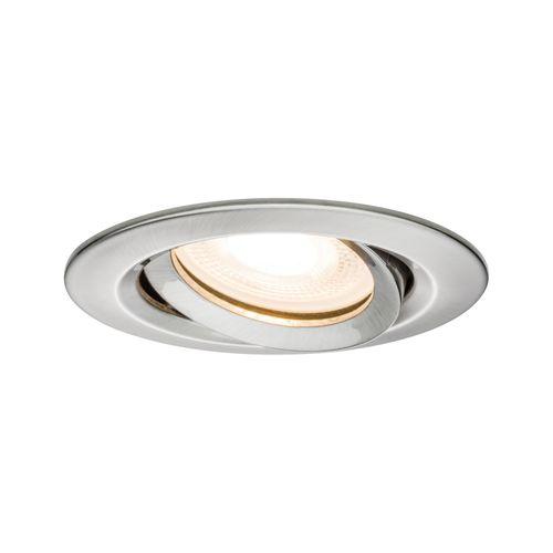 Spot encastré LED Paulmann Nova inclinée 7W de fer