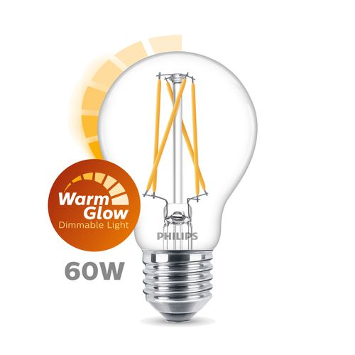 Ampoule LED Philips 'A60' 8W