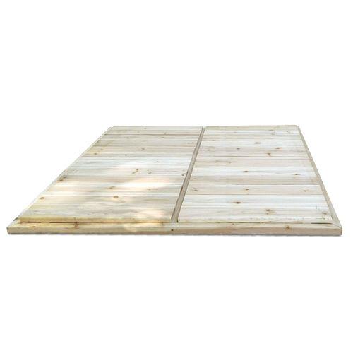 Exit plancher maisonnette 'Loft 100 / 150 / Crooky 100' bois naturel