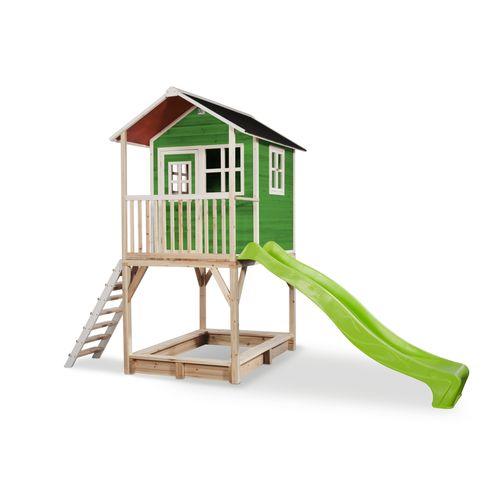 Maisonnette Exit 'Loft 700' bois vert
