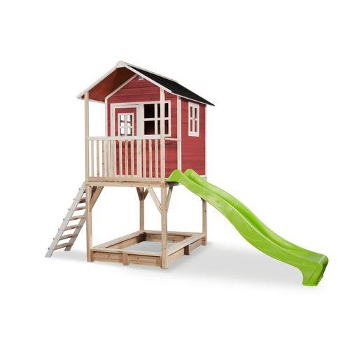 Maisonnette Exit 'Loft 700' bois rouge