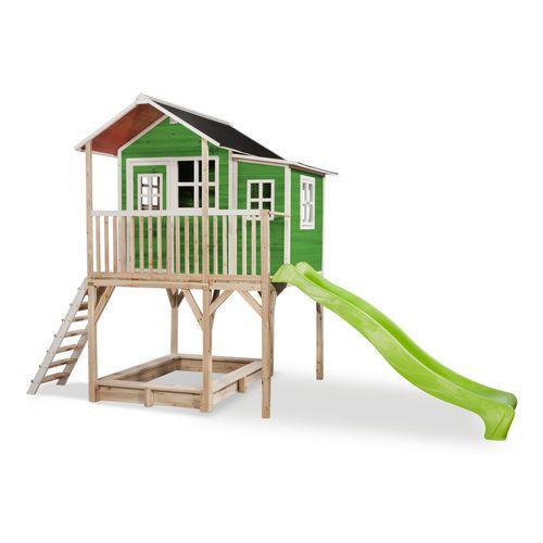Maisonnette Exit 'Loft 750' bois vert