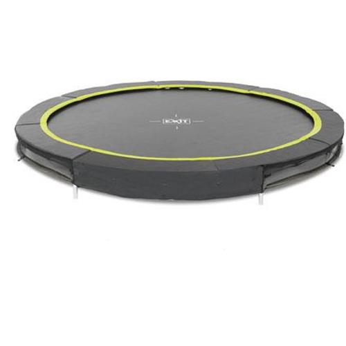 Exit inbouw trampoline Silhouette Ground ø305cm rond