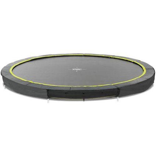 Exit inbouw trampoline Silhouette Ground ø427cm rond