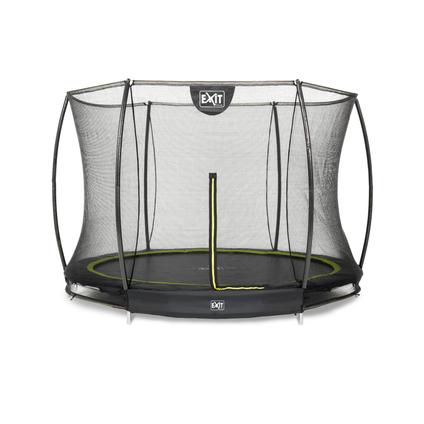 Exit inbouw trampoline Silhouette Ground ø244cm rond + veiligheidsnet