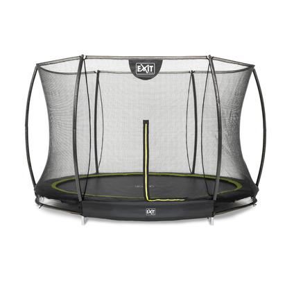 Exit inbouw trampoline Silhouette Ground ø305cm rond + veiligheidsnet