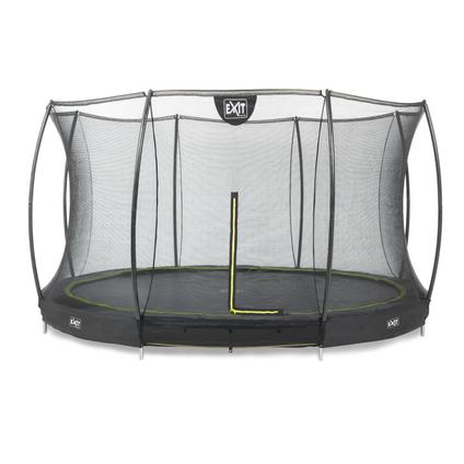 Exit inbouw trampoline Silhouette Ground ø366cm rond + veiligheidsnet