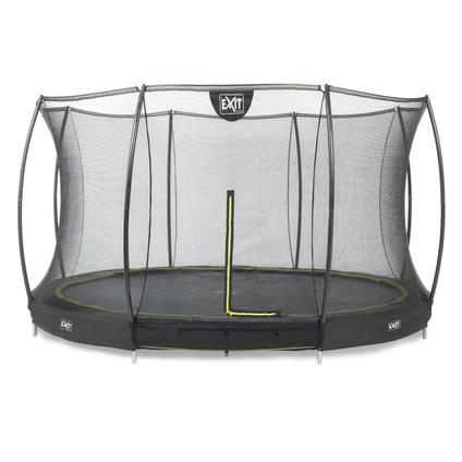 Exit inbouw trampoline Silhouette Ground ø427cm rond + veiligheidsnet