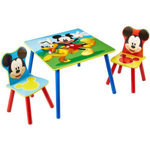 Tafel met twee stoeltjes van Mickey Mouse