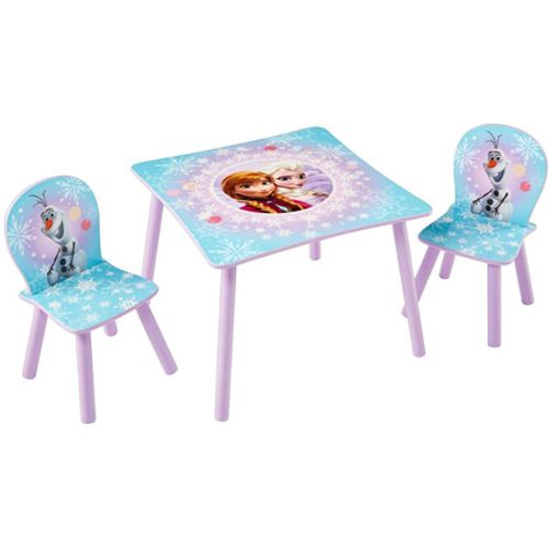 Tafel met twee stoeltjes van Frozen