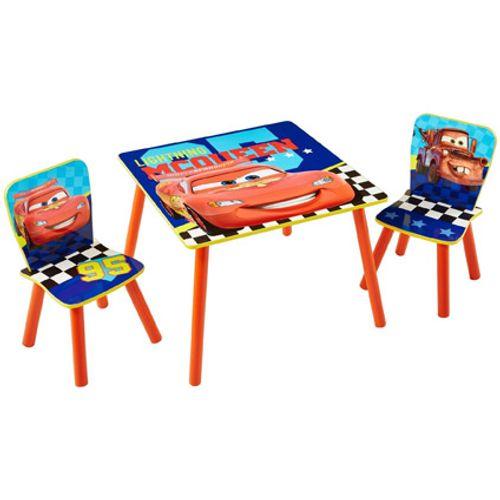 Tafel met twee stoeltjes van Cars