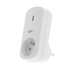 Prise extra Profile 'Qnect' 1000 W blanc