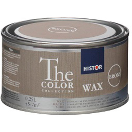Histor The Color Collection Krijtverf Wax brons 250ml