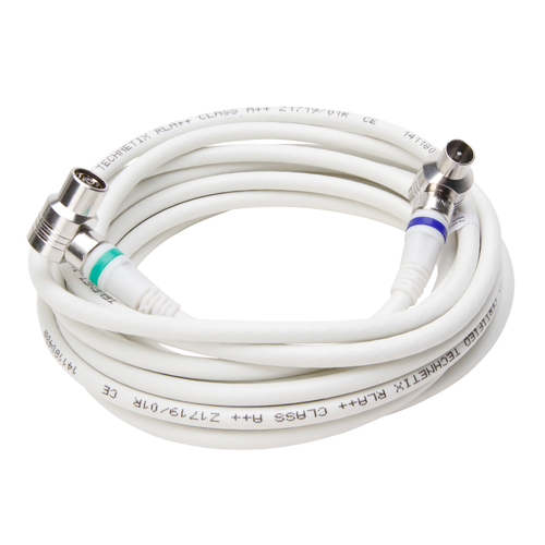 Cable coaxial Kopp 4G blanc 3 m