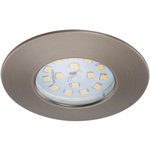 Spot encastrable fixe Briloner 'Attach' gris industriel 5W