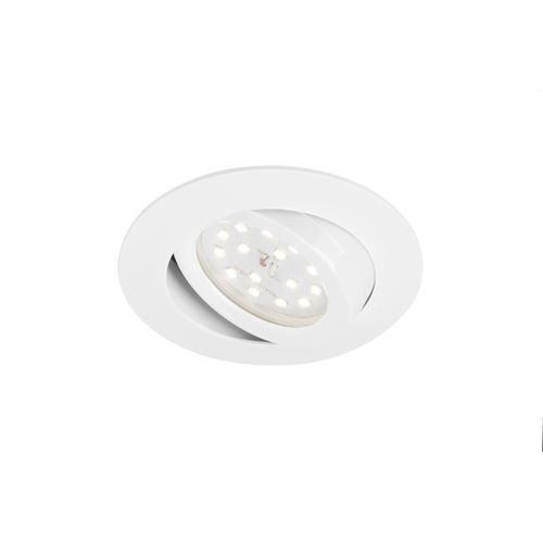 Spot encastrable orientable Briloner 'Attach dimmable' blanc 5,5W