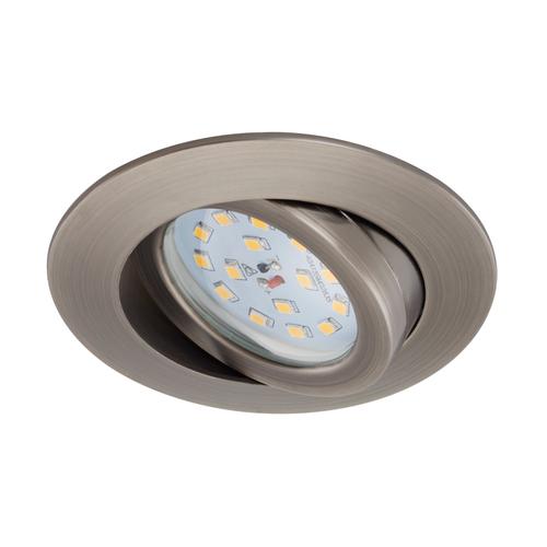 Spot encastrable Briloner Attach Dim industriel inclinable 6.5W