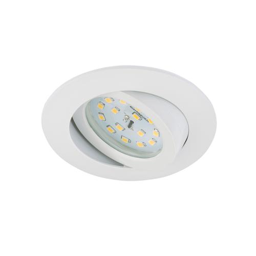 Spot encastrable Briloner Attach Dim blanc inclinable 6.5W