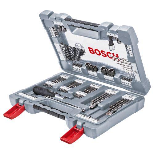 Bosch boren- en schroefbitset X-line – 105 stuks