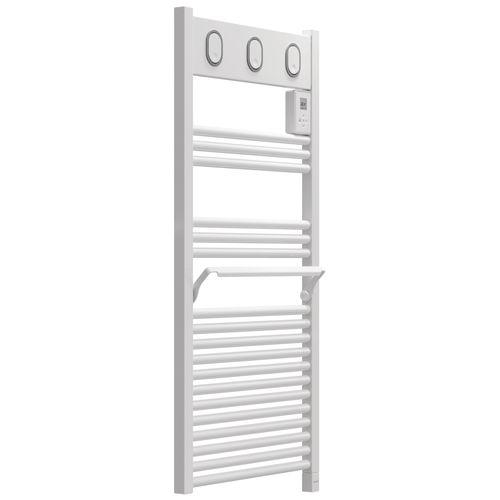 Radiateur sèche-serviettes électrique Sauter Marapi blanc 500W