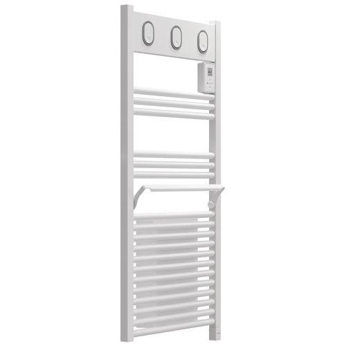 Radiateur sèche-serviettes électrique Sauter Marapi Ventilo blanc 500+1000W