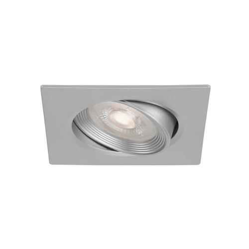 Briloner inbouwspot Fit Go zilver vierkant kantelbaar 3x5W
